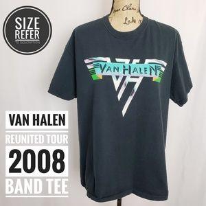 VAN HALEN CONCERT TOUR GRAPHIC TEE 2008